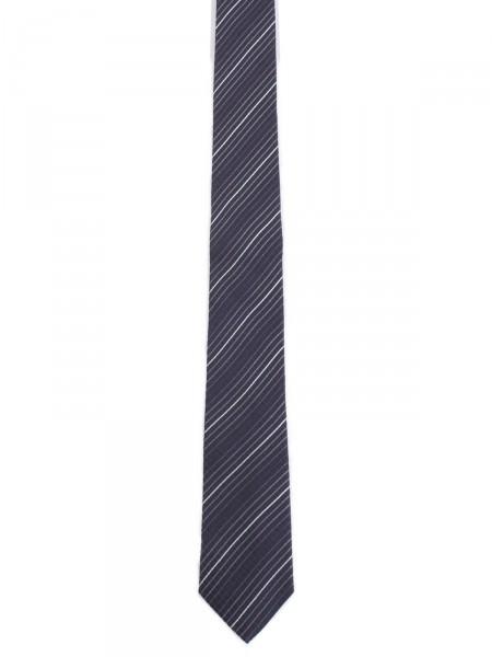 MILANO ITALY Herren Krawatte Seide, navy-beige