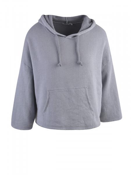 HEARTKISS Damen Sweatshirt, grau