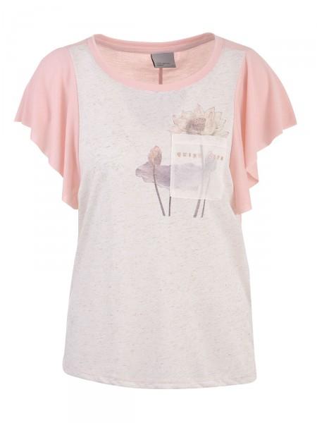 VERO MODA Damen T-Shirt, rosa