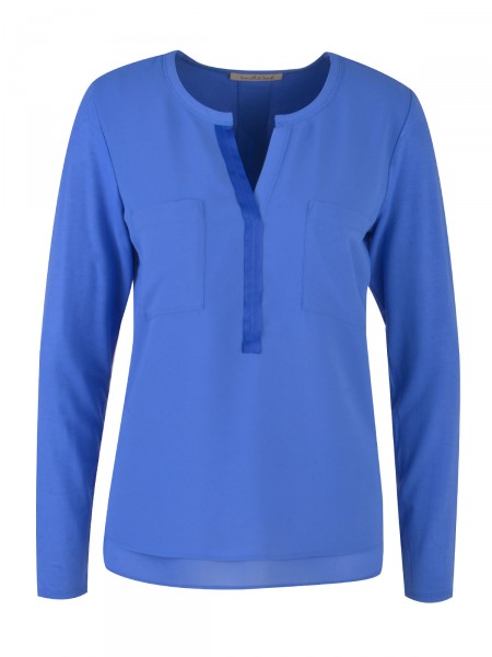 SMITH & SOUL Damen Bluse, royalblau