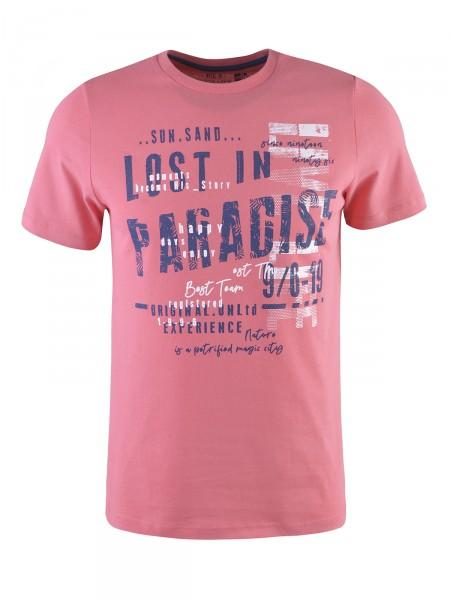 MILANO ITALY Herren T-Shirt, puderrot