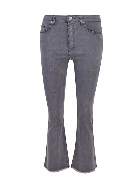 SMITH & SOUL Damen Jeans, grau