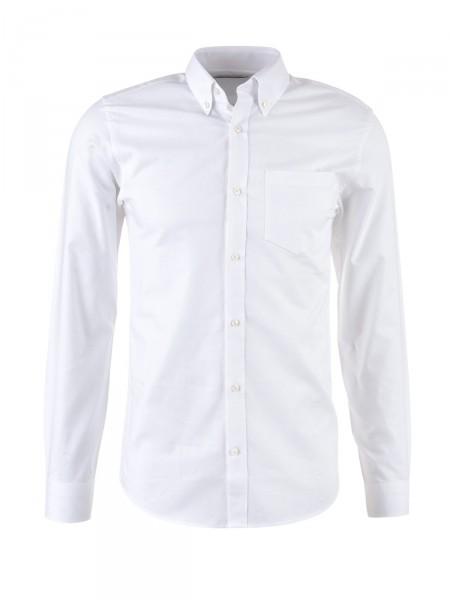 JACK & JONES Herren Hemd, weiß