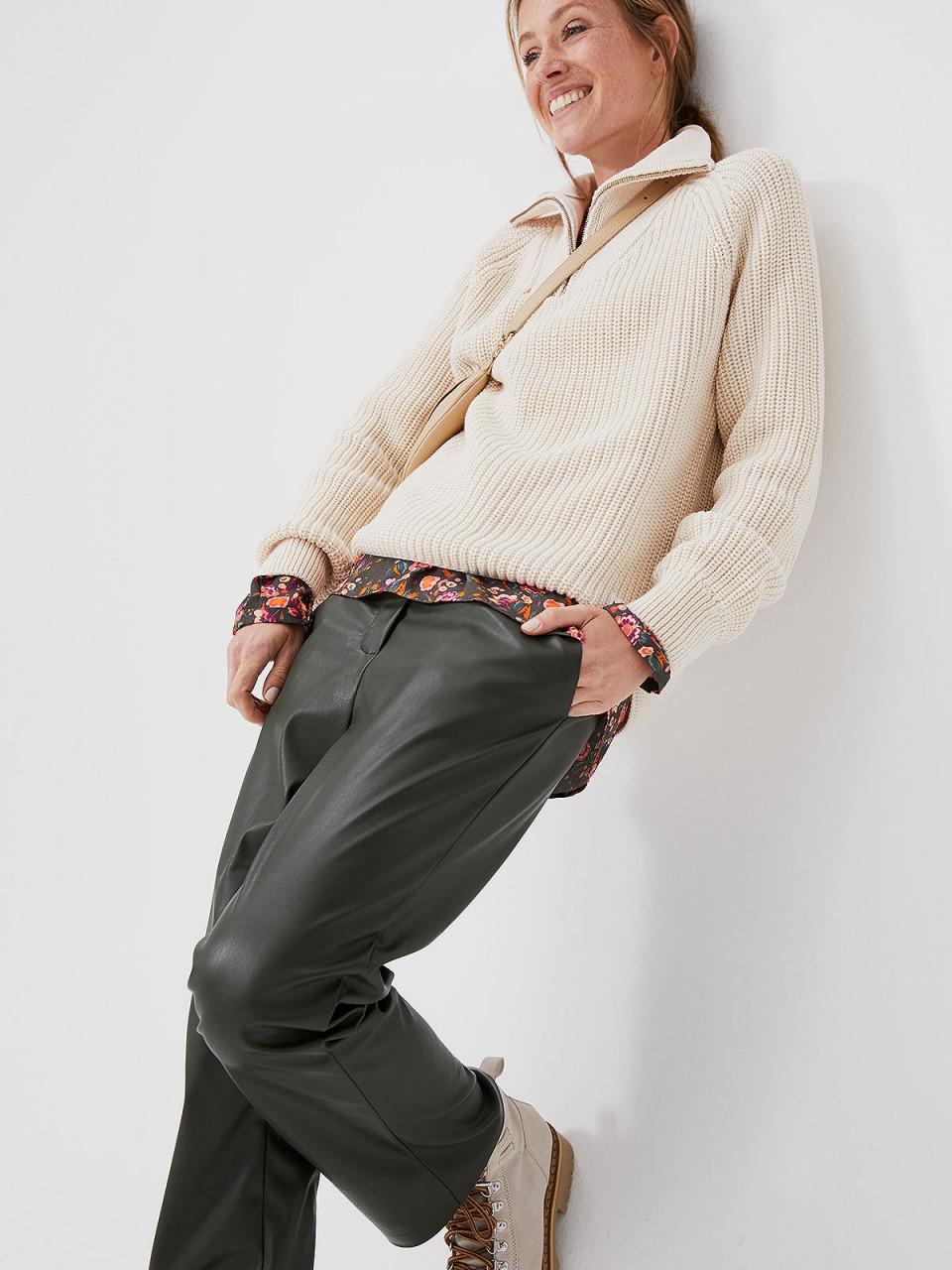 Hosen - SMITH SOUL Damen Hose, grün  - Onlineshop Designermode.com