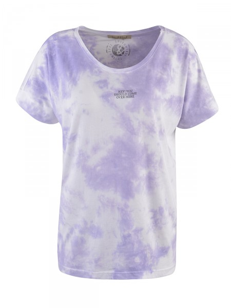SMITH & SOUL Damen T-Shirt, lavendel