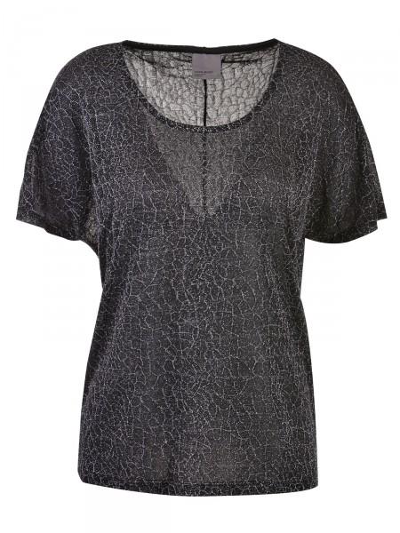 VERO MODA Damen T-Shirt, schwarz