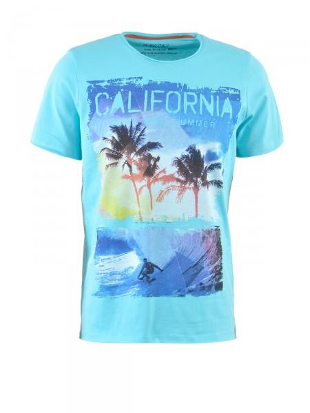 MILANO ITALY Herren T-Shirt, aqua