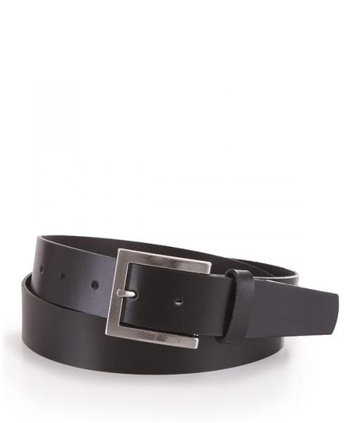 MILANO ITALY Gürtel aus Leder, schwarz
