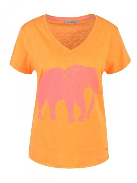 SMITH & SOUL Damen T-Shirt, orange