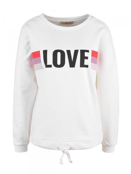 SMITH & SOUL Damen Sweatshirt, weiß