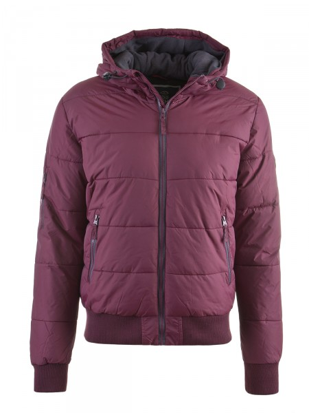CROSSHATCH Herren Jacke, bordeaux