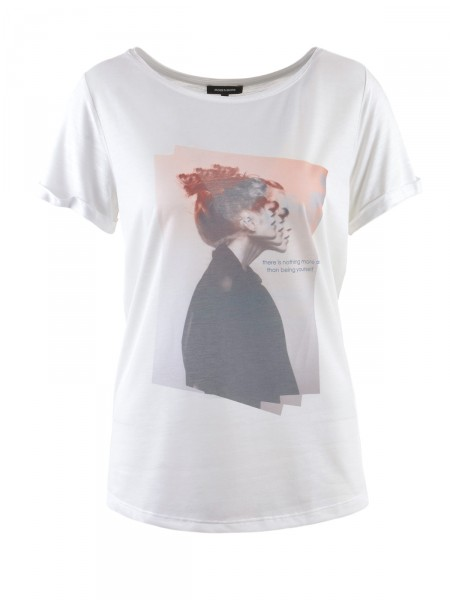 MORE & MORE Damen T-Shirt, creme