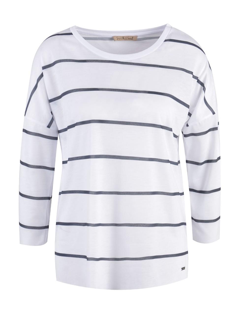 Oberteile - SMITH SOUL Damen Shirt, weiß  - Onlineshop Designermode.com