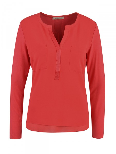 SMITH & SOUL Damen Bluse, rot