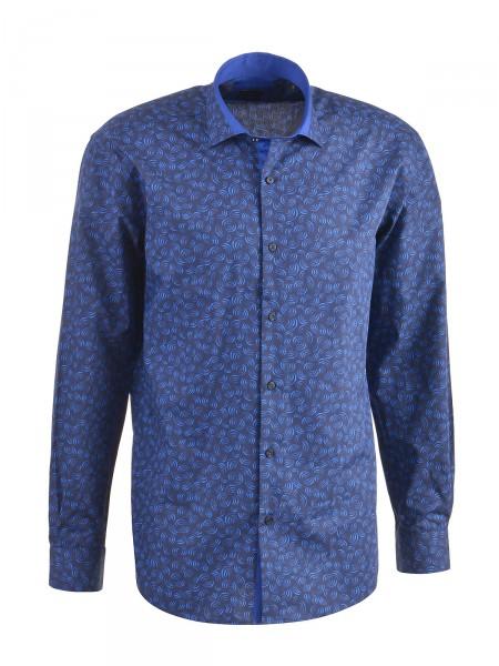 MILANO ITALY Herren Hemd, navy-blau