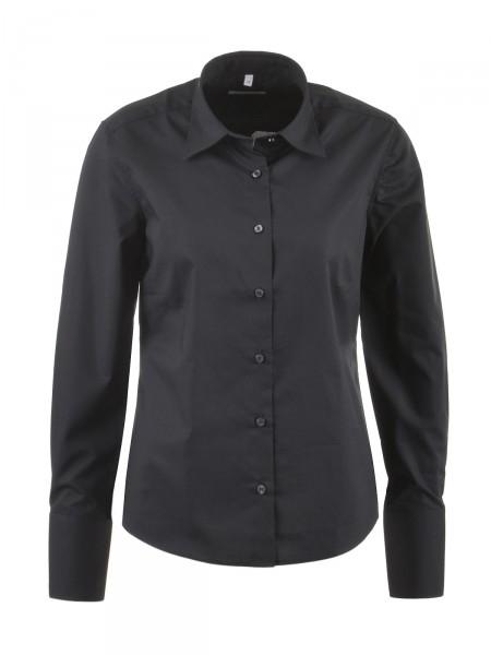 MILANO ITALY Damen Bluse, schwarz