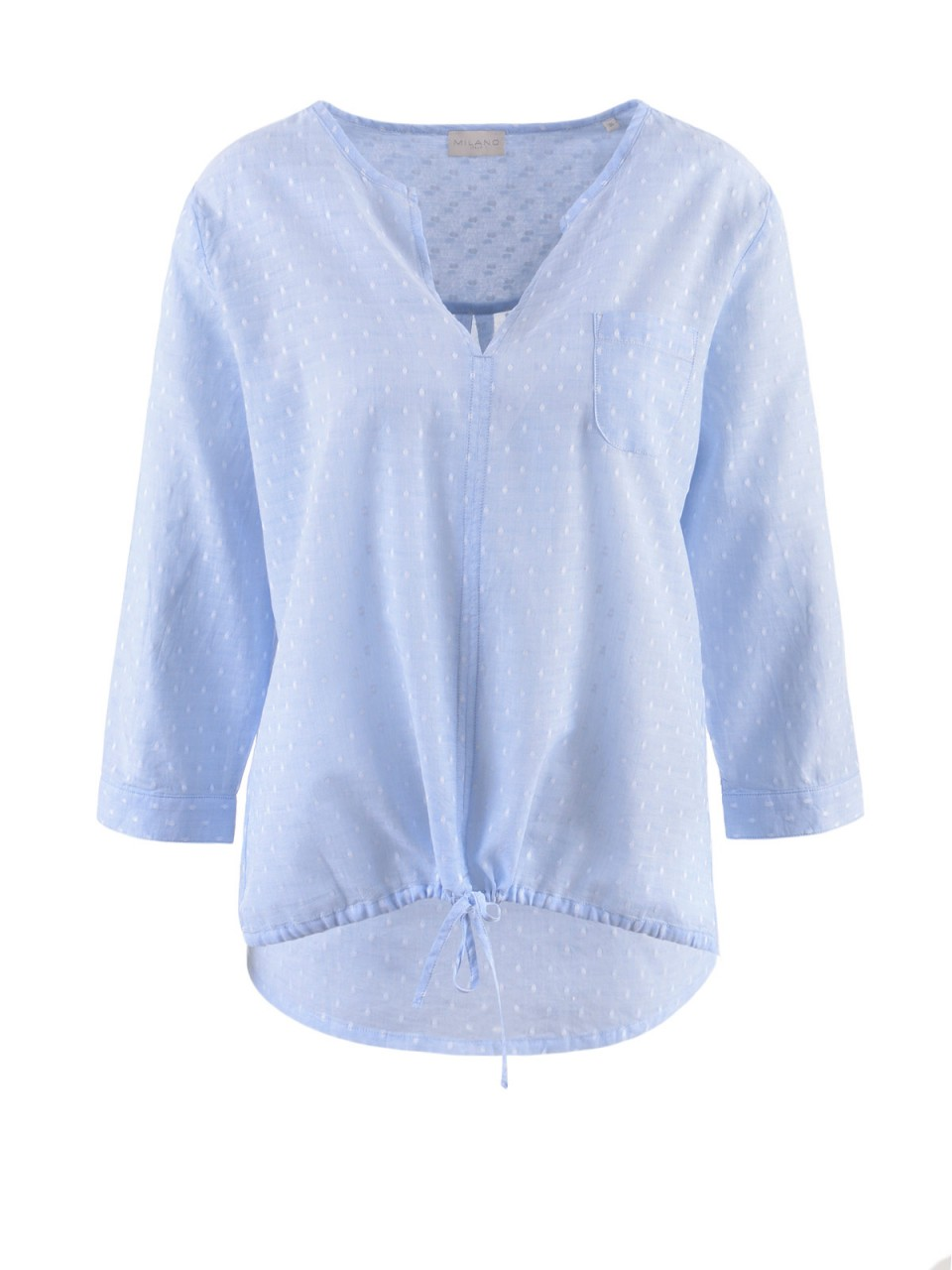 milano-italy-damen-bluse-blau-wei-szlig-