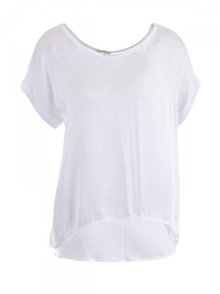 HEARTKISS Damen T-Shirt, weiß