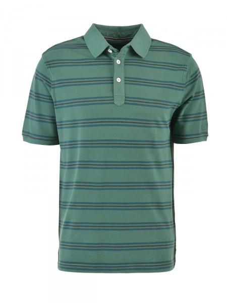 BUGATTI Herren Poloshirt, grün