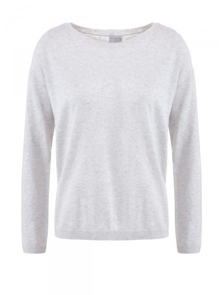 MILANO ITALY Damen Pullover, grau meliert