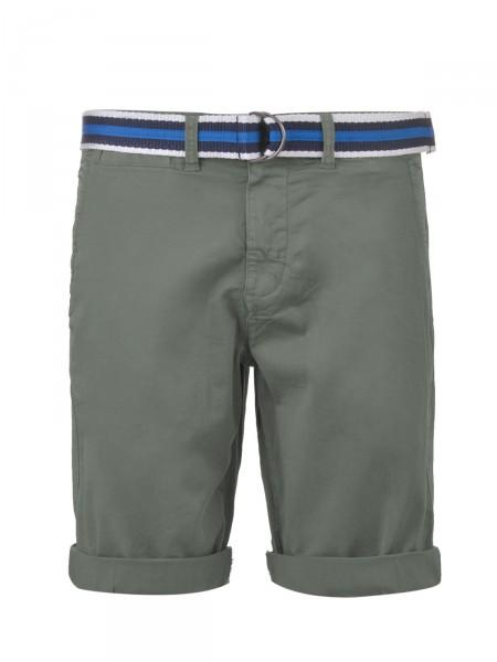 MILANO ITALY Herren Bermuda Shorts, oliv