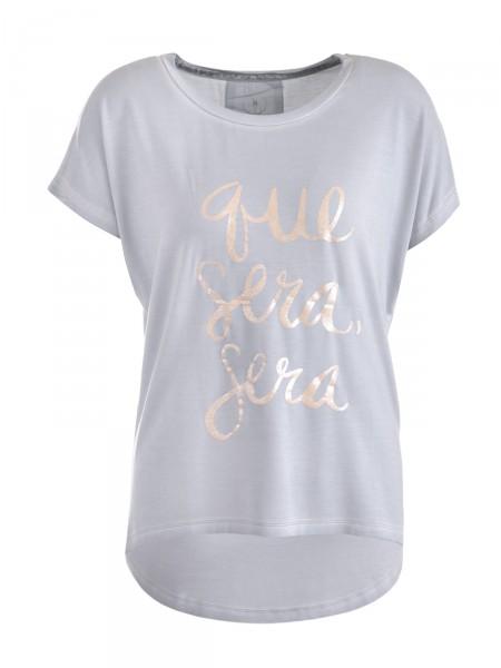 CAT NOIR Damen T-Shirt, grau