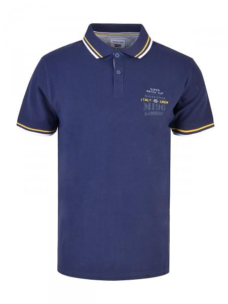 MILANO ITALY Herren Poloshirt, marine