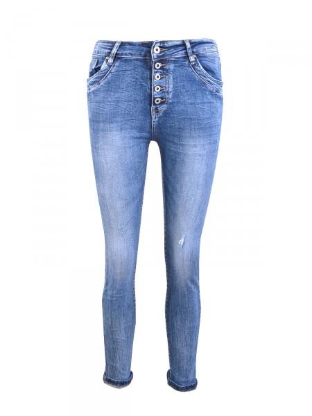 """HEARTKISS Damen Jeans """"7015"""", blau"""