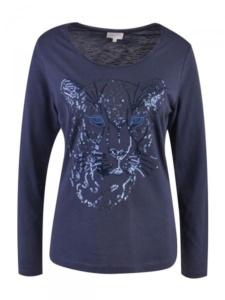 MILANO ITALY Damen Shirt, dunkelblau