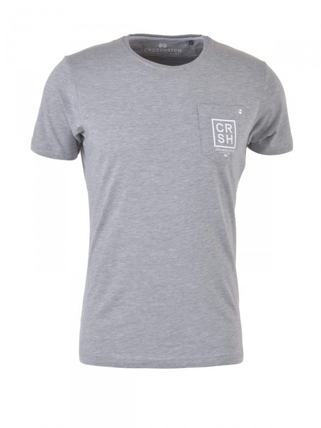 CROSSHATCH Herren T-Shirt, grau
