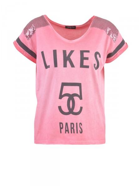 DECAY Damen T-Shirt, pink