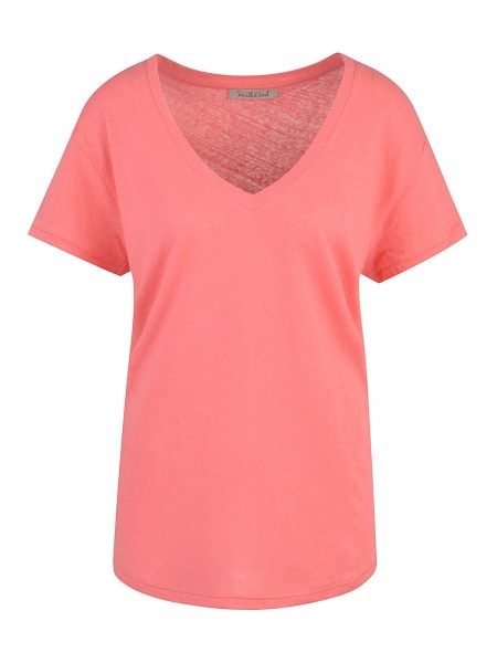 SMITH & SOUL Damen T-Shirt, rot