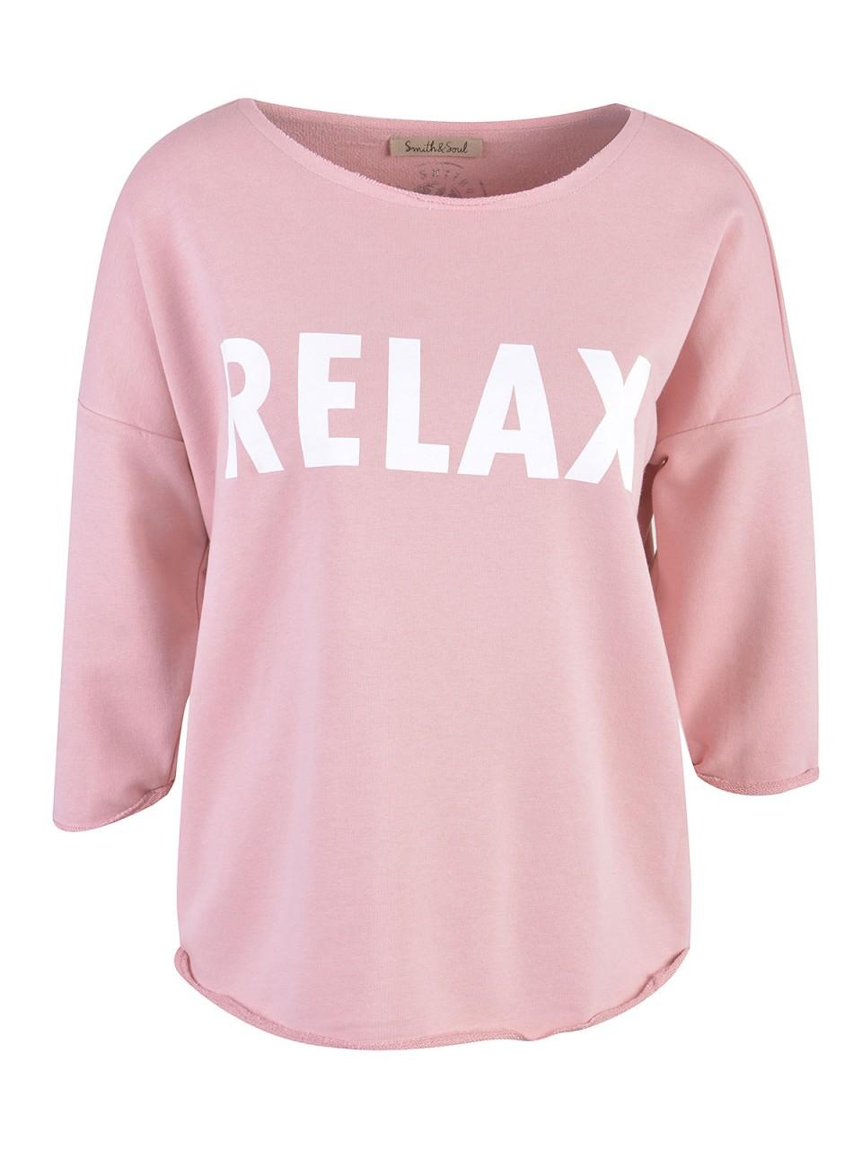 Oberteile - SMITH SOUL Damen Sweatshirt, rosa  - Onlineshop Designermode.com