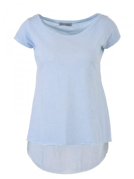 DUBBIN & HOLLINSHEAD Damen T-Shirt, blau