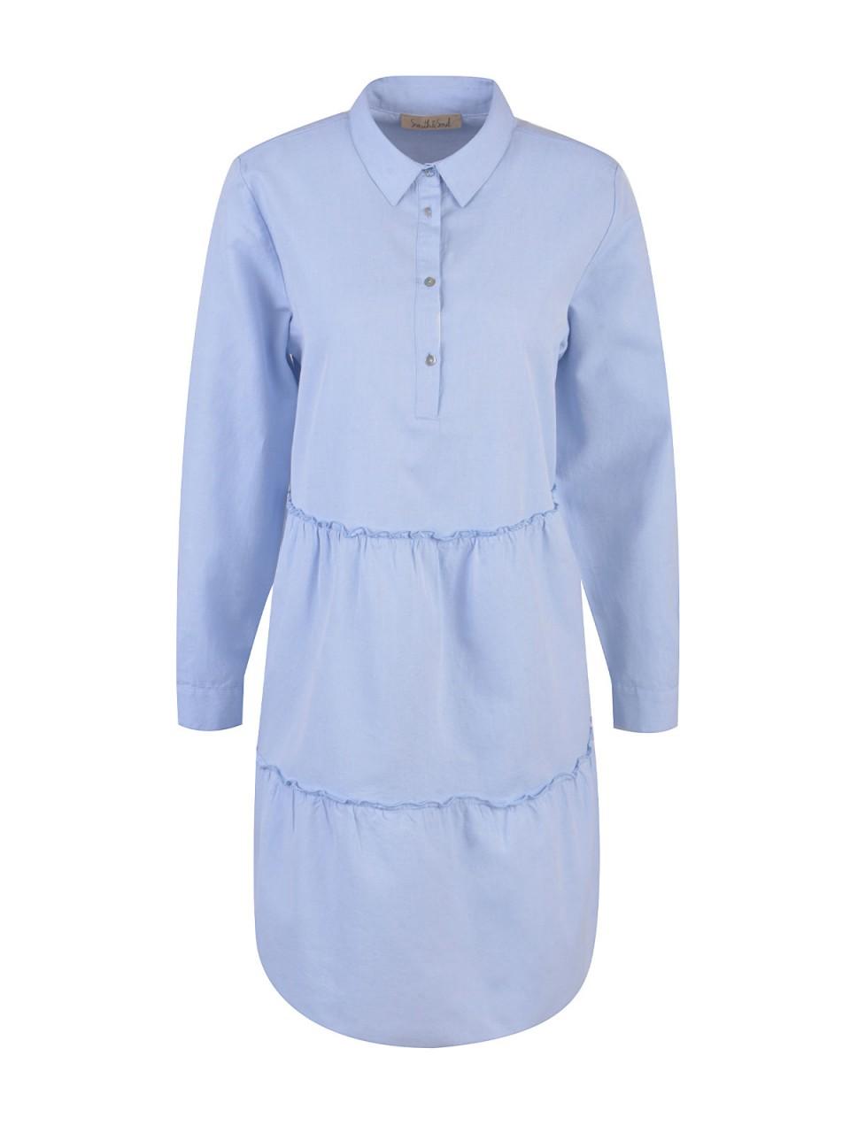 Kleider - SMITH SOUL Damen Kleid, hellblau  - Onlineshop Designermode.com