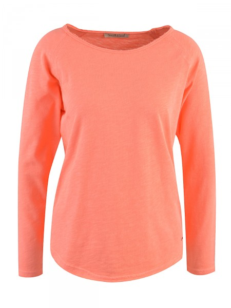 SMITH & SOUL Damen Sweatshirt, orange