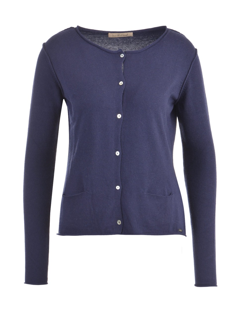 Jacken - SMITH SOUL Damen Strickjacke, navy  - Onlineshop Designermode.com