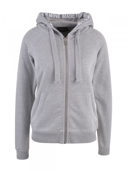 SMITH & SOUL Damen Sweatjacke, grau