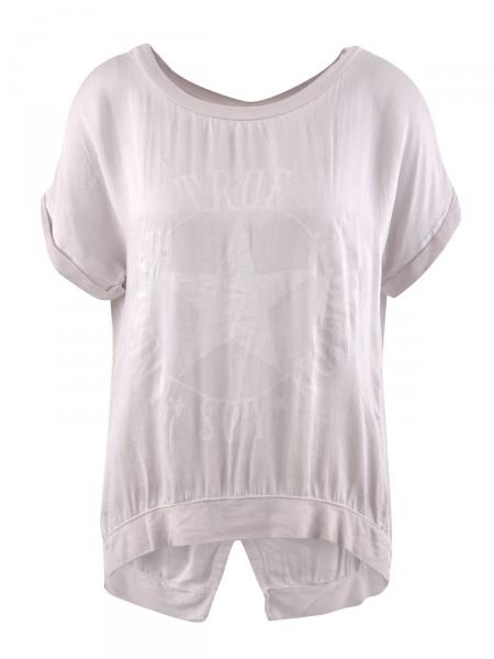 HEARTKISS Damen T-Shirt, rosa