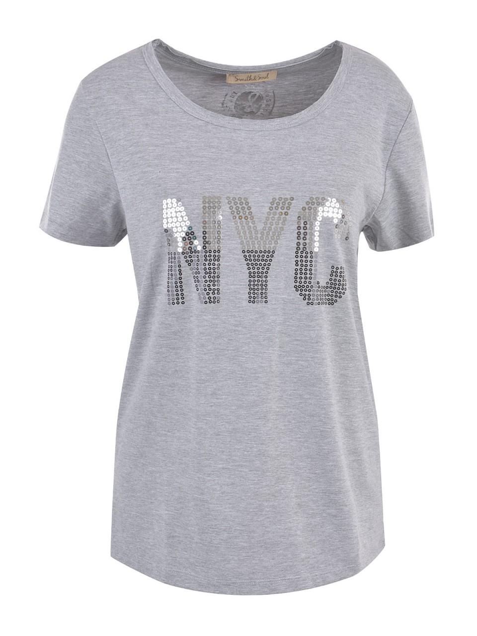 smith-amp-soul-damen-t-shirt-grau