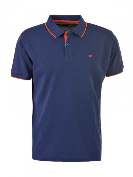 BOSTON BROTHERS Herren Poloshirt, navy