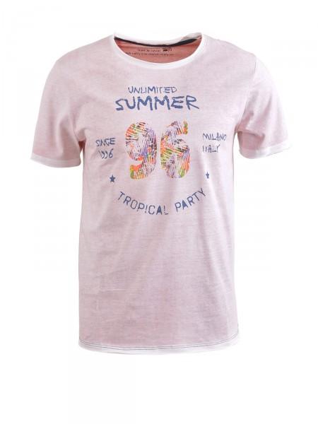 MILANO ITALY Herren T-Shirt, rot