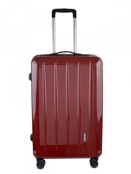 "MILANO ITALY Trolley ""Mailand 70 cm"", rot carbon"