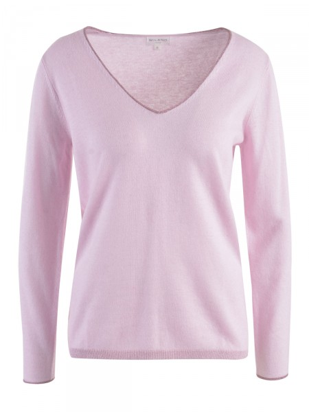 Milano Italy Damen Pullover, rosa