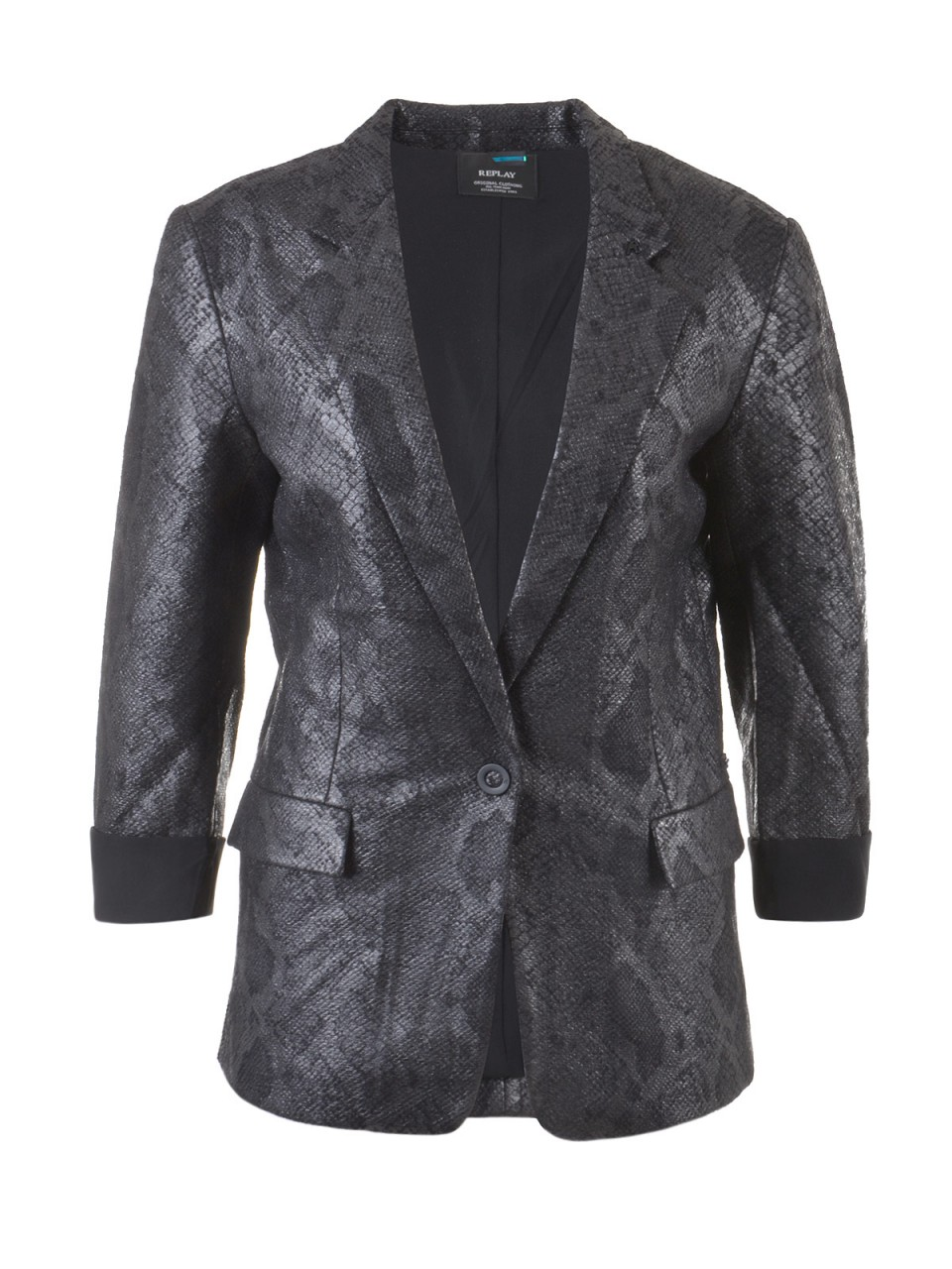 replay-damen-blazer-schwarz