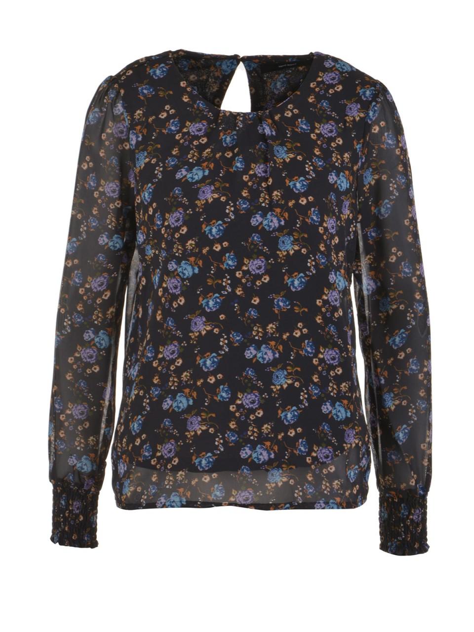 vero-moda-damen-shirt-rose-schwarz, 19.99 EUR @ designermode-com-mode