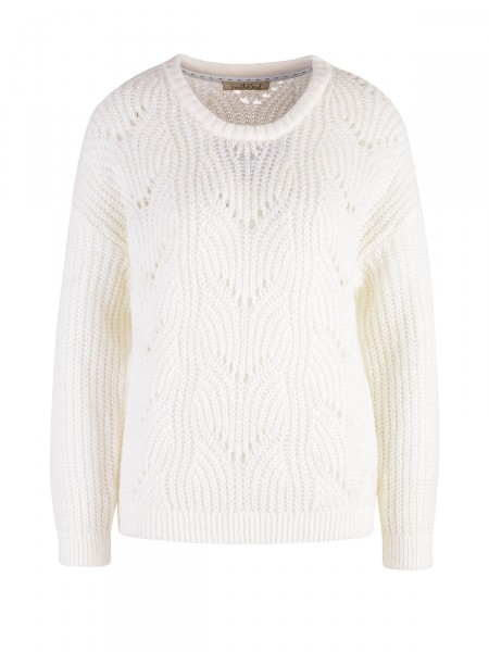 SMITH & SOUL Damen Strickpullover, creme