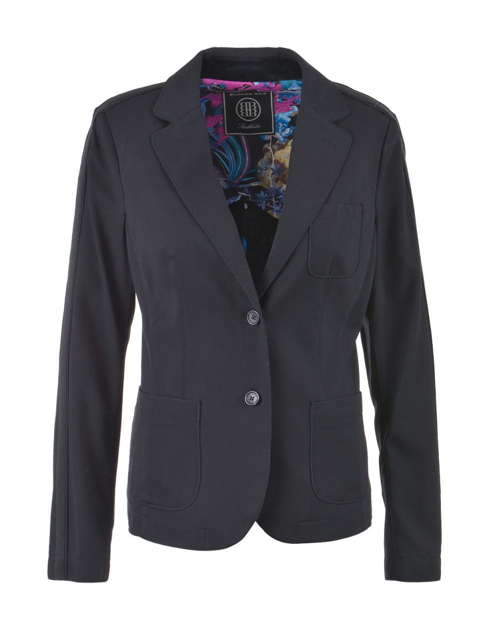 blonde-no-8-damen-blazer-schwarz