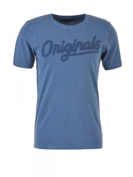 JACK & JONES Herren T-Shirt, blau