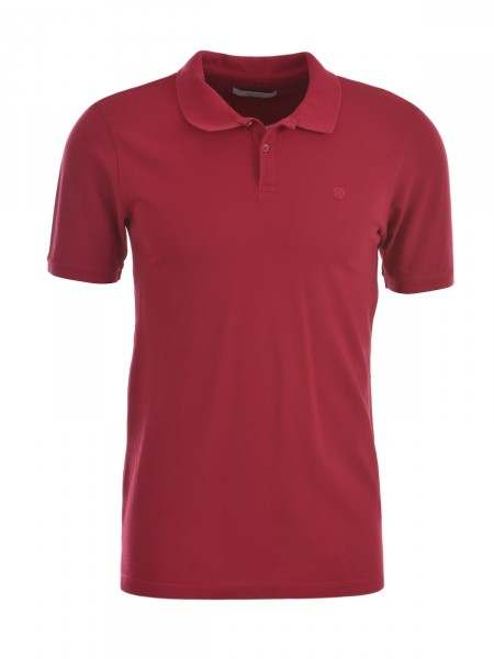 JACK & JONES Herren Poloshirt, rot